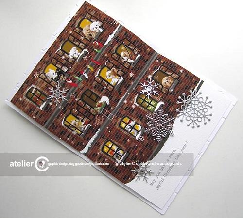 画像1: クリスマスカード  2018